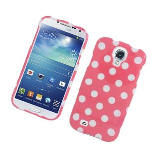 Insten Polka Dots Hard Snap-on Case Cover For Samsung Galaxy S4