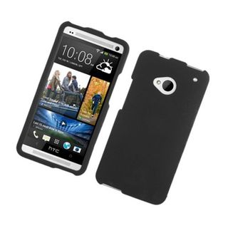 Insten Hard Snap-on Rubberized Matte Case Cover For HTC One M7
