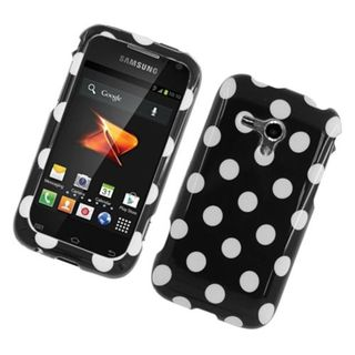 Insten Polka Dots Hard Snap-on Case Cover For Samsung Galaxy Rush