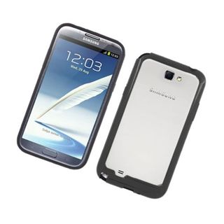 Insten TPU Rubber Candy Skin Bumper Frame For Samsung Galaxy Note II