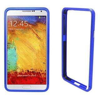 Insten Blue Aluminum Metal Bumper Frame For Samsung Galaxy Note 3