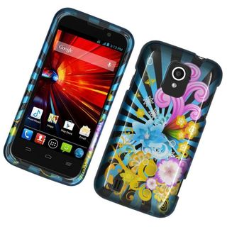 Insten Colorful Fireworks Hard Snap-on Rubberized Matte Case Cover For ZTE Majesty/ Source