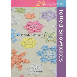 Search Press Books-Tatted Snowflakes (20 To Make)