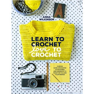 Chronicle Books-Learn To Crochet Love To Crochet