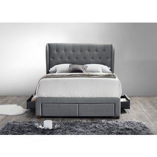 DG Casa Grey King Storage Bed