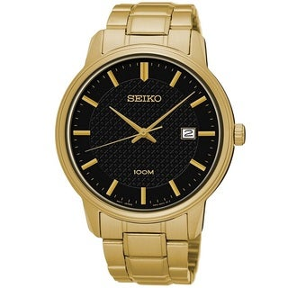 Seiko Men's SUR2003 Stainless Steel  Watch with 100M water resistance