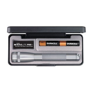 Maglite Mini Mag LED Pro + Gray, Presentation Box