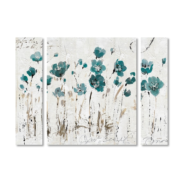 Lisa Audit 'Abstract Balance VI Blue' Multi Panel Art Set - Blue