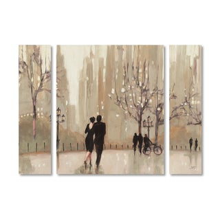 Julia Purinton 'An Evening Out Neutral' Multi Panel Art Set