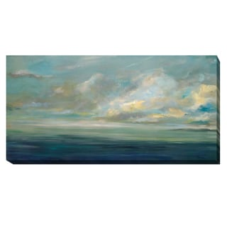 Karen Lorena Parker 'Shoreline' Gallery-wrapped Canvas Giclee Art