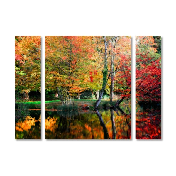 Philippe Sainte-Laudy 'I'll Be There' Multi Panel Art Set - Red