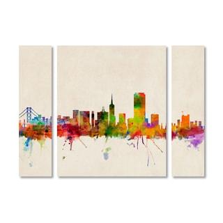 Michael Tompsett 'San Francisco California' Multi Panel Art Set