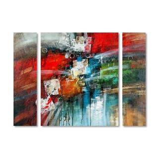Rio 'Cube Abstract IV' Multi Panel Art Set