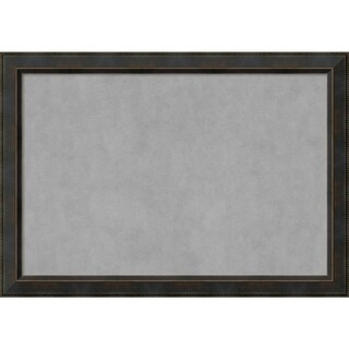 Framed Magnetic Board, Signore Bronze