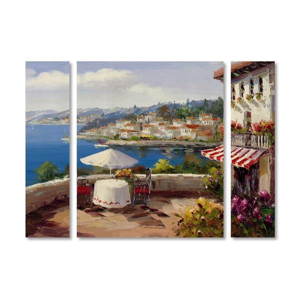 Rio 'Italian Afternoon' Multi Panel Art Set