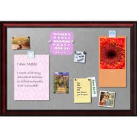 Framed Magnetic Board, Rubino Cherry Scoop
