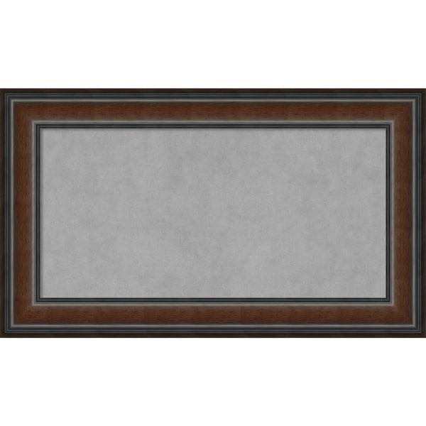 Framed Magnetic Board, Cyprus Walnut