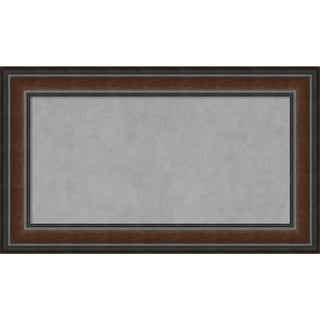 Framed Magnetic Board, Cyprus Walnut