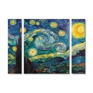 Vincent van Gogh 'Starry Night' Multi Panel Art Set