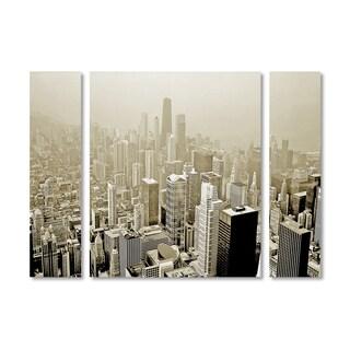 Preston 'Chicago Skyline' Multi Panel Art Set