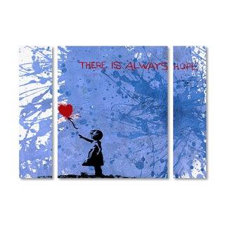 Banksy 'There Is Always Hope' Multi Panel Art Set