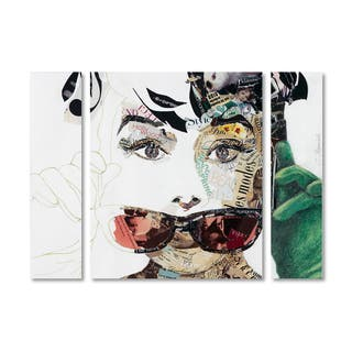 Ines Kouidis 'Audrey' Multi Panel Art Set|https://ak1.ostkcdn.com/images/products/14325115/P20904819.jpg?impolicy=medium