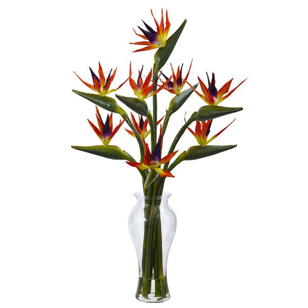 Birds of Paradise in Vase