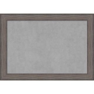 Framed Magnetic Board, Country Barnwood