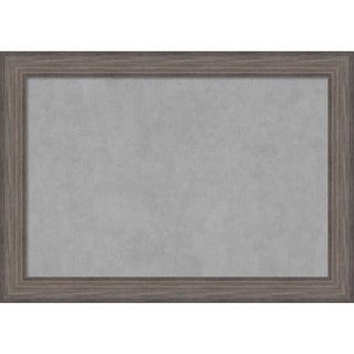 Framed Magnetic Board, Country Barnwood