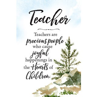 'Teachers Are...' Wood Plaque with Easel