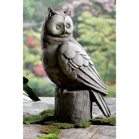 "18"" Large Owl Garden Statue"