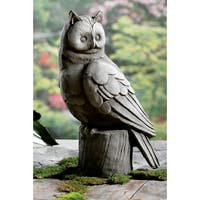 "18"" Large Owl Garden Statue"