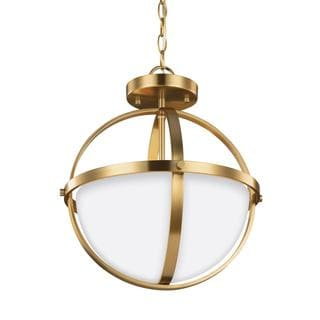Sea Gull Alturas 2 Light Satin Bronze Ceiling Fixture