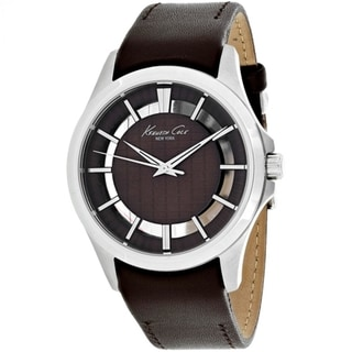 Kenneth Cole Transparency 10022289 Men's Brown Dial Watch