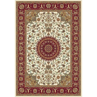 Istanbul Collection Cream Polypropylene Turkish Area Rug (2'6 x 7'2)