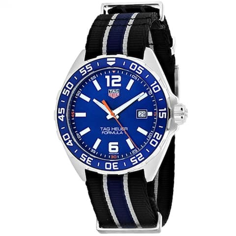 Tag Heuer Formula 1 WAZ1010.FC8197 Men's Blue Dial Watch