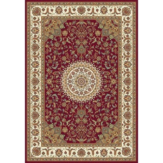 Istanbul Collection Red Polypropylene Turkish Area Rug (2'6 x 7'2)