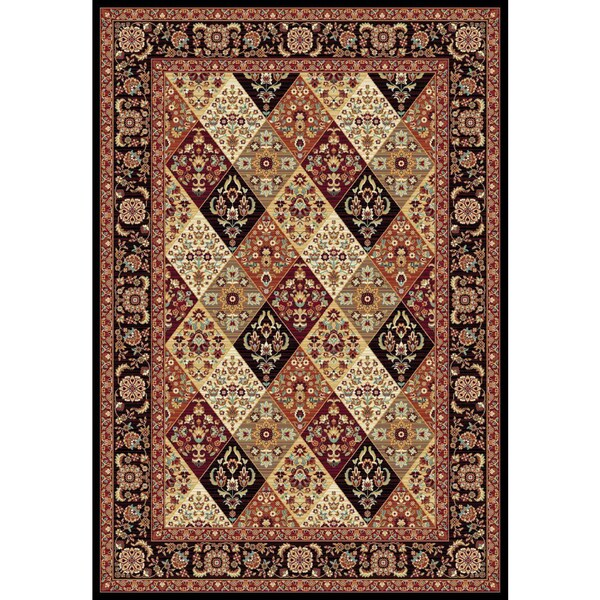 Istanbul Collection Red/Multicolor Turkish Area Rug (2'6 X 7'2)