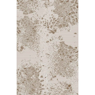 Luxury Collection Grey Turkish Area Rug (5'3 x 7'3)