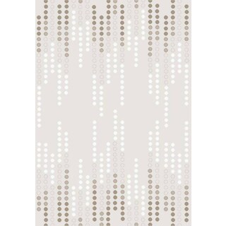 Luxury Collection Cream/Taupe Polypropylene Turkish Area Rug (2'6 x 7'2)
