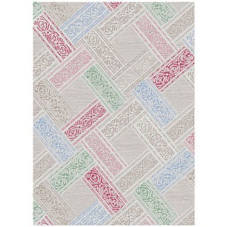 Melody Collection Multicolor Polypropylene Turkish Area Rug (7'10 x 10'6)