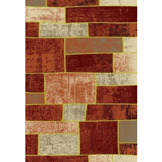 Metropolitan Collection Brick Turkish Area Rug (7'10 X 10'6)