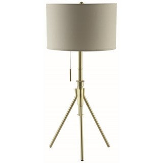 Mid-Century Modern Tripod Design Adjustable Table Lamp