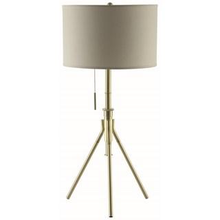 Mid-Century Modern Tripod Design Adjustable Table Lamp