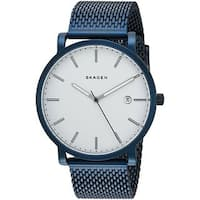 Skagen Women's  'Hagen' Blue Stainless Steel Watch