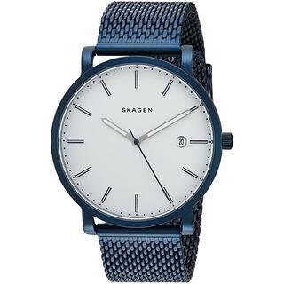 eaecd71f705 Skagen Women s SKW6326  Hagen  Blue Stainless Steel Watch