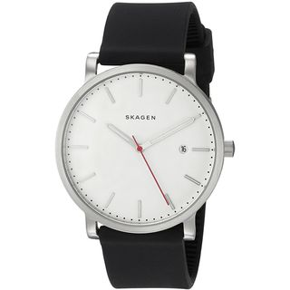 Skagen Men's SKW6340 'Hagen' Black Silicone Watch