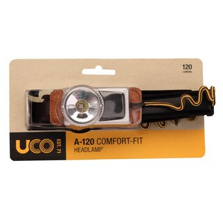UCO A120 Headlamp Black and Tan