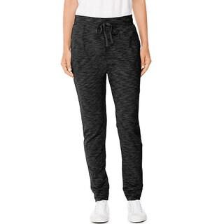 Hanes Women's Slub Jersey Pocket Pants