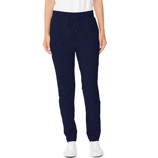 Hanes Women's Slub Jersey Pocket Pants